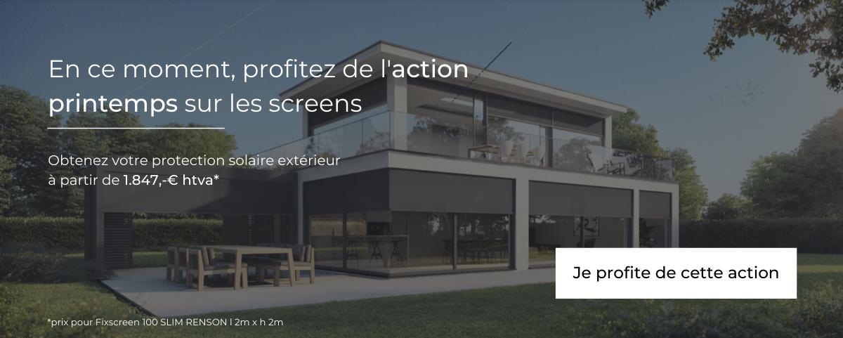 Action screens veranda hainaut